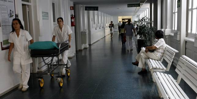 Pasillos del Hospital Clínic de Barcelona