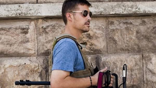 James Foley durante una de sus cobertura en Oriente Medio.