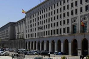 Sede del ministerio de Fomento en Madrid.