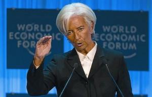 La directora gerente del FMi, Christine Lagarde, en una foto de archivo.