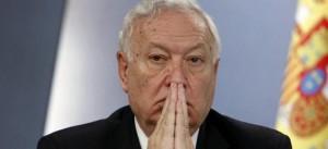 Ministro de Exteriores, José Manuel García-Margallo