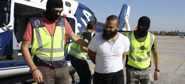 Presunto terrorista yihadista detenido en Melilla en septiembre de 2013.