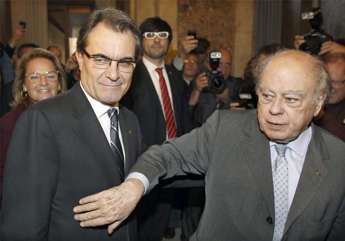 Artur Mas y Jordi Pujol