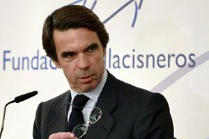 El expresidente del Gobierno, Jose María Aznar