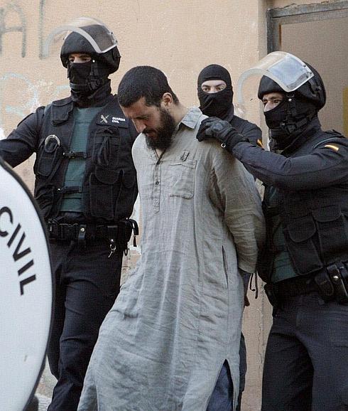 Detención en Melilla de uno de los miembros de una presunta célula yihadista.