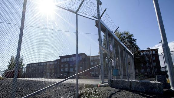 Vistas de la prisión de Halden, en Noruega.