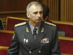 El ministro de Defensa de Ucrania, Mijaíl Koval