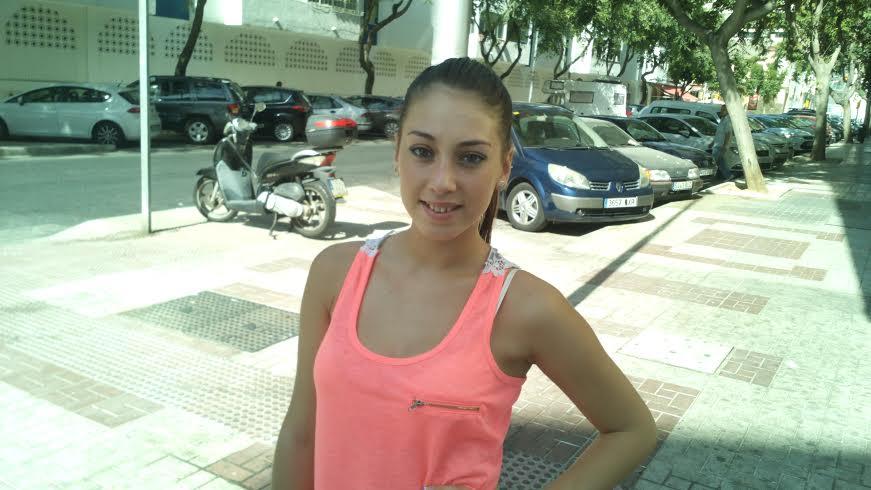 Rosa Moreno, ayer en Málaga
