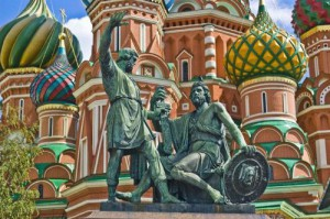 Catedral San Basilio, uno de los símbolos más emblemáticos de Rusia.