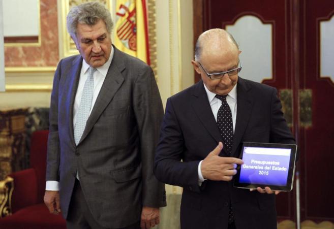 Cristóbal Montoro presenta el proyecto de ley de los PGE 2015.