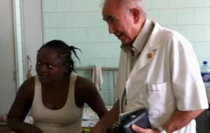 Imagen sin fechar facilitada por Fundación Juan Ciudad ONG del misionero Miguel Pajares, fallecido el 12 de agosto