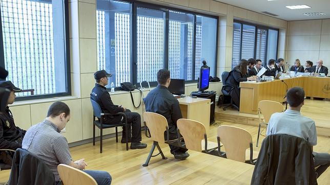 Primera sesión del juicio celebrado en la Audiencia Nacional