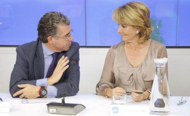 Granados, en su etapa de hombre de confianza de Aguirre