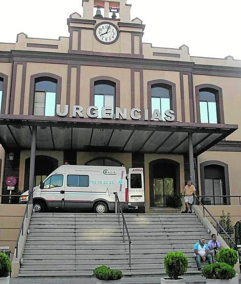 Los hechos sucedieron en la puerta de urgencias del Hospital Civil de Málaga