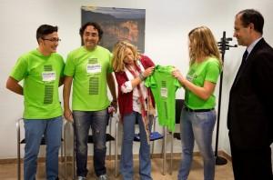 Joana Ortega se reúne con portavoces de los voluntarios del 9-N