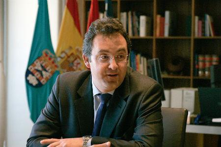 El alcalde de Leganés, Jesús Gómez Ruiz