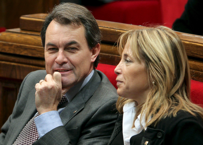 Artur Mas y Joana Ortega