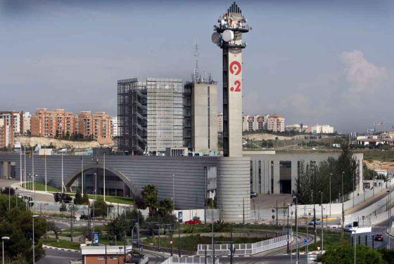 Sede de Canal 9 en Valencia.