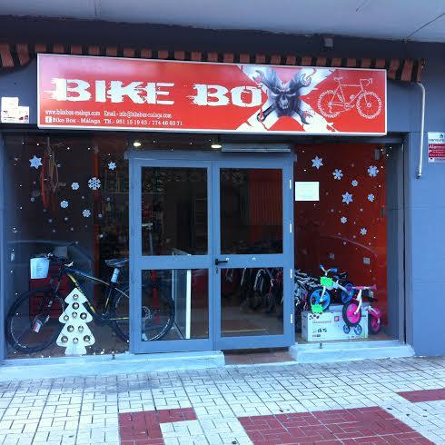 Fachada de Bike Box-Málaga