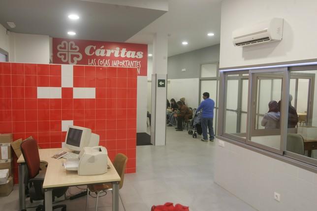 Oficinas de Cáritas en Talavera.