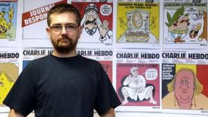 Stéphane Charbonnier, director de «Charlie Hebdo», en una entrevista en 2012