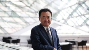 Wang Jianlin, el empresario chino que desembarcó en el Atlético de Madrid.