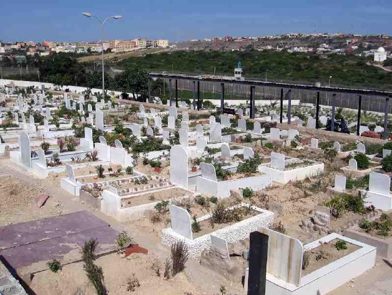 Cementerio musulmán en Melilla