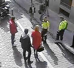 Imágenes del incidente de Aguirre con los agentes de movilidad