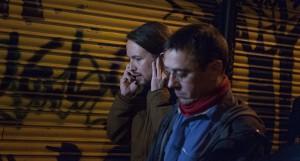 Pablo Iglesias junto a Juan Carlos Monedero