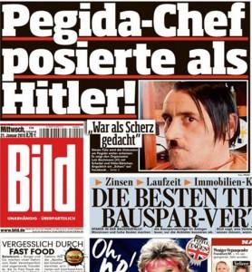El jefe del movimiento Pegida, Lutz Bachmann. / Bild