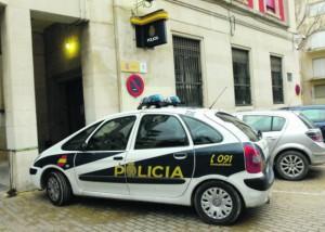 Comisaría de Jaén. El policía estaba destinado en la Unidad de Prevención, Atención y Protección contra los malos tratos.