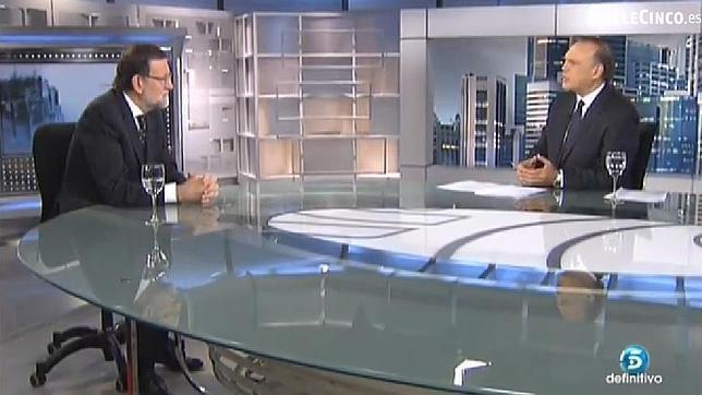 Entrevista al presidente del Gobierno, Mariano Rajoy
