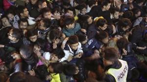 Aplastamiento en la fiesta de Año Nuevo de Shanghái