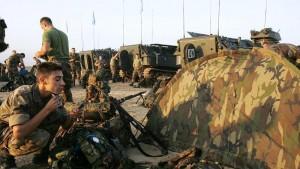 Llegada de los primeros militares al Líbano en septiembre de 2006