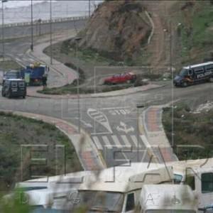 Controles policiales en Ceuta