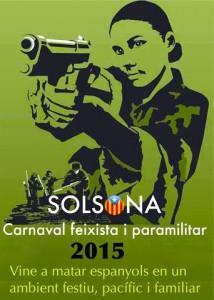 Cartel del Carnaval de Solsona