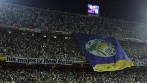 Hinchas del Betis.