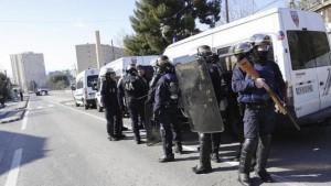 La Policía se despliega en Marsella.