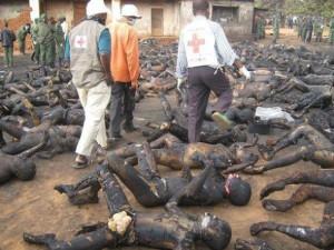 Cristianos asesinados por la organización islamista Boko Haram en Nigeria
