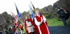 Una nueva versión del paganismo nórdico está ganando adeptos en Islandia.