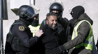 Imagen de un presunto yihadista detenido en Melilla.