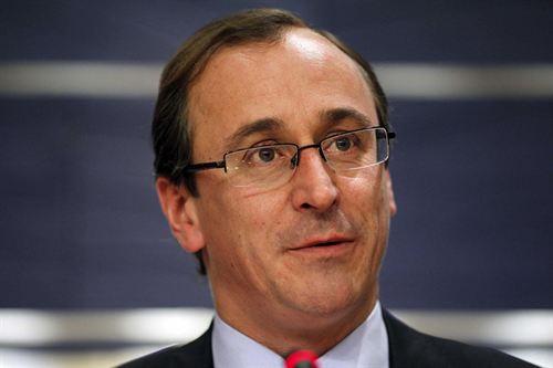 El ministro de Sanidad, Alfonso Alonso.