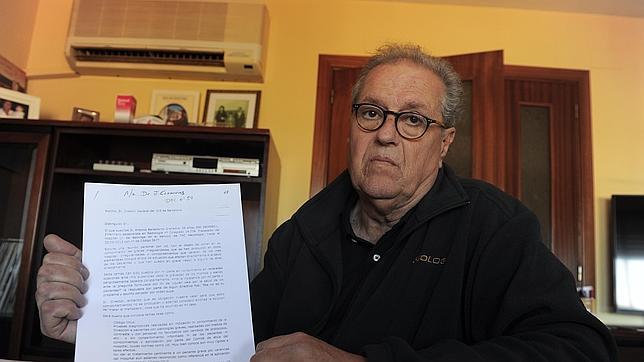 Antonio Ballesteros muestra el registro de la reunión que mantuvo con el consejero de Salud de Cataluña donde le informa de las irregularidades del Hospital de Bellvitge