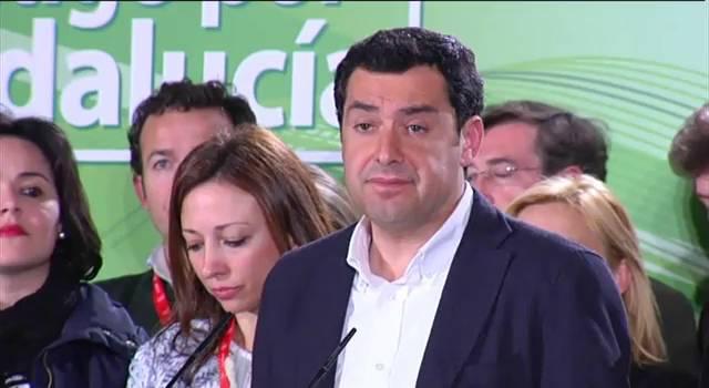 Juanma Moreno Bonilla, candidato del PP