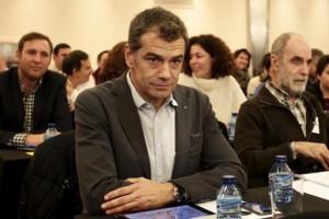 Toni Cantó, en el Consejo Político de UPyD.