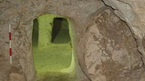 Antes del convento, se erigía en el sitio una iglesia bizantina
