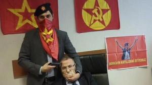 Imagen del fiscal turco retenido.