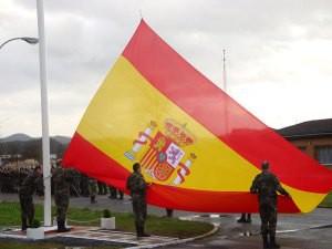 Izado de Bandera Regimiento Garellano-Billbao
