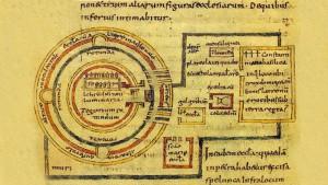 Un plano del lugar, en el De Locis Sanctis