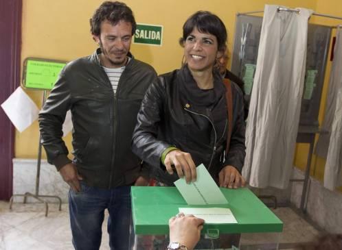 Kichi, pareja de la líder de Podemos en Andalucía, es el candidato a la alcaldía de Cádiz